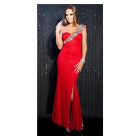Dámske spoločenské šaty Zainab - červené