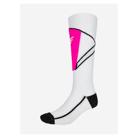 Ponožky 4F Sodn200 Ski Socks Biela