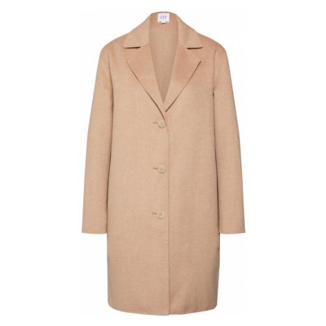 GAP Prechodný kabát 'OC WOOL DF COAT'  farba ťavej srsti