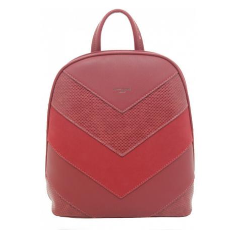 David Jones Dámsky batoh Red 6203-2