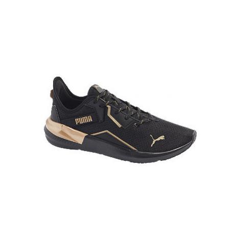Čierne tenisky Puma Platinum Metallic WNS