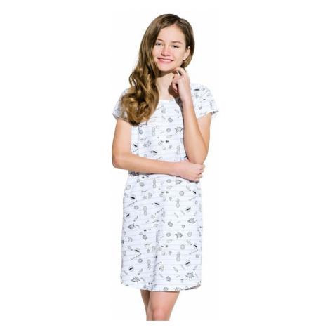 Dievčenská nočná košeľa Inka šedá Taro