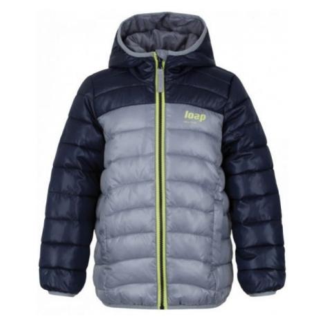 Loap IMEGO šedá - Detská zimná bunda