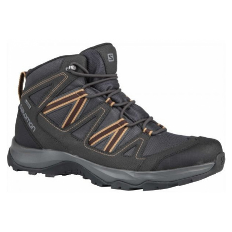 Salomon LEGHTON MID GTX hnedá - Pánska hikingová obuv