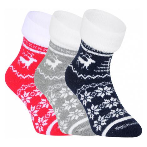 3PACK ponožky BOMA viacfarebné (Norway) M