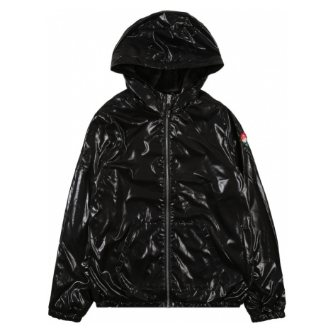 UNITED COLORS OF BENETTON Prechodná bunda  čierna