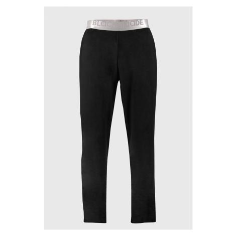 Modalové nohavice Thalin ČIERNA Blackspade