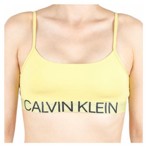 Dámska podprsenka Calvin Klein žltá (QF5181E-HZY)
