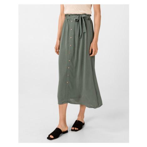 Vero Moda Naomi Paperbag Sukňa Zelená