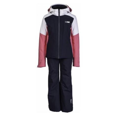 Colmar JR GIRLS 2-PC-SUIT čierna - Dievčenský lyžiarsky komplet