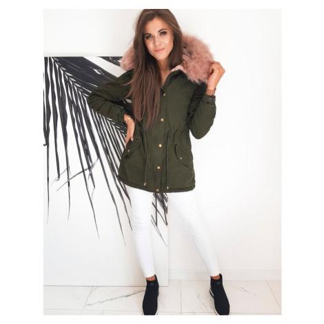 SEVILLA green women's parka jacket TY1312 DStreet