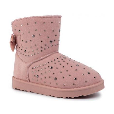 Členkové topánky Nelli Blu CSL1936-01 Látka/-Materiál