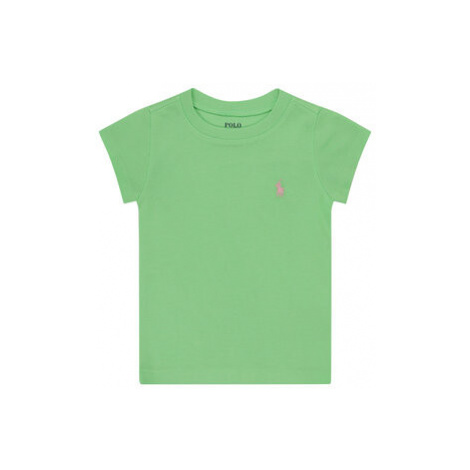 Polo Ralph Lauren Tričko Spring I 311698703 Zelená Regular Fit