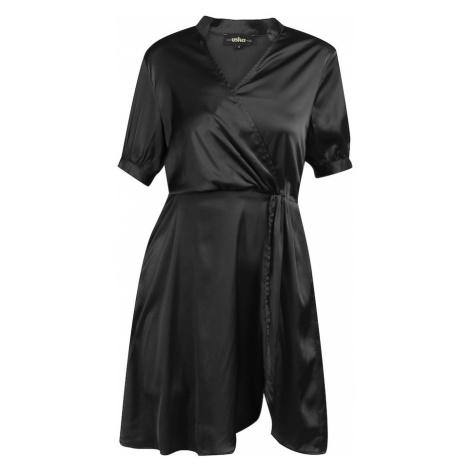 usha BLACK LABEL Košeľové šaty  čierna