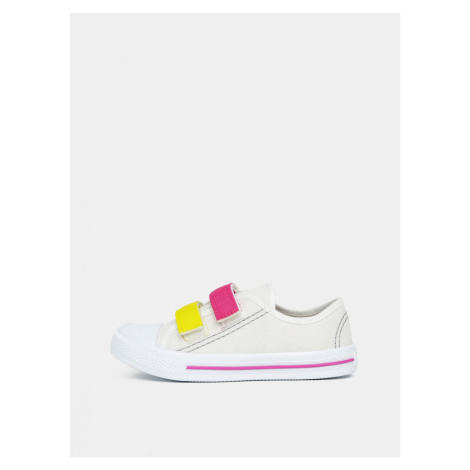 Cream Girl Sneakers 3F
