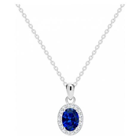 Preciosa Strieborný náhrdelník Yala 68 (retiazka, prívesok)