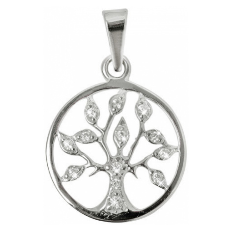 Brilio Prívesok Strom života s kryštálmi 001 07