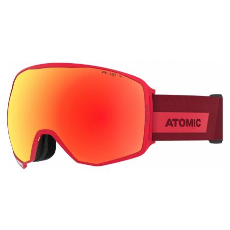 Lyžiarske okuliare ATOMIC Count 360° HD Red Červená