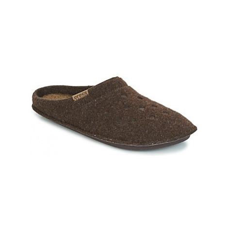Crocs CLASSIC SLIPPER Hnedá