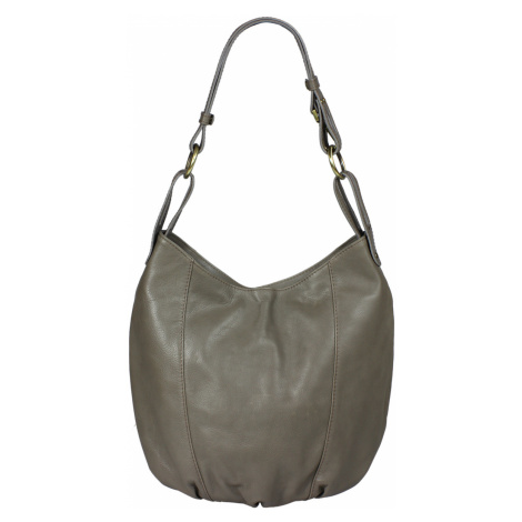 Talianská kožená kabelka Lagia Grigia Scuro