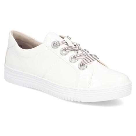Jana Športová šnurovacia obuv biela