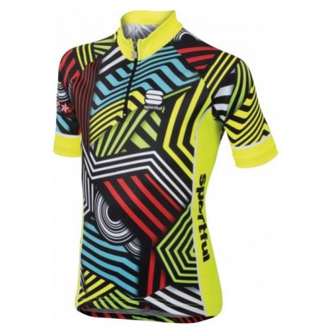 Sportful MGF 2016 JERSEY žltá - Detský cyklodres