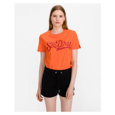 SuperDry Collegiate Cali State Tričko Oranžová