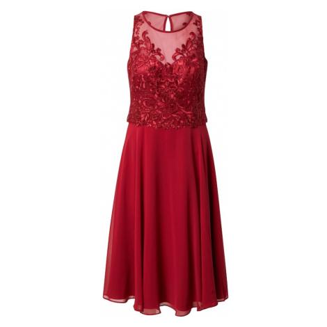 Vera Mont Kokteilové šaty  červená