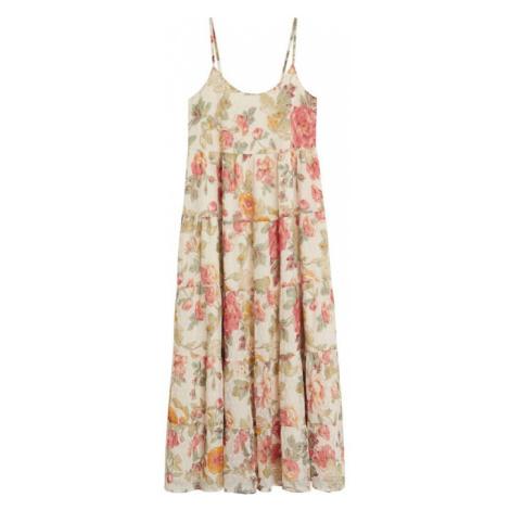 MANGO Plážové šaty 'Barbel'  béžová / zmiešané farby
