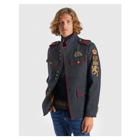 Sako La Martina Man Jacket Wool Canvas