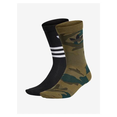 Ponožky adidas Originals Camo Crew 2Pp Farebná