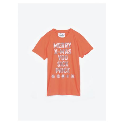 GATE Pyžamové tričko s vianočným motívom