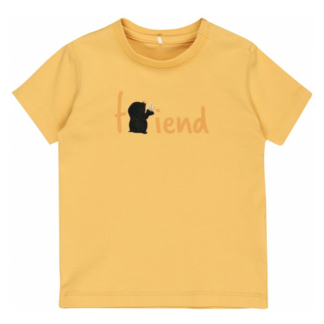 NAME IT Tričko 'Defam'  oranžová / svetlooranžová / čierna