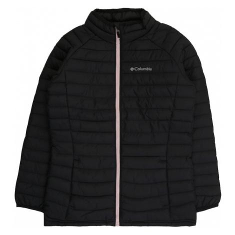 COLUMBIA Outdoorová bunda 'Powder Lite™'  čierna / ružová