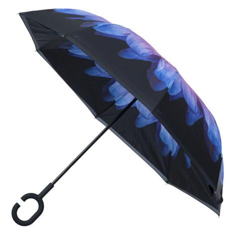 Blooming Brollies Dámsky palicový dáždnik Inside Out Purple Daisy Umbrella EDIOPUD