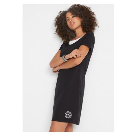 Bavlnené úpletové šaty