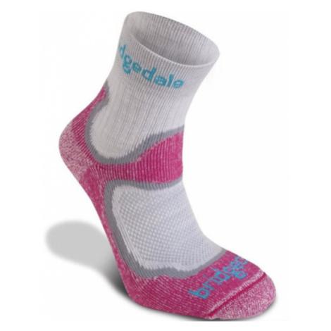Ponožky Bridgedale Trailsport Lightweight T2 Merino Cool Comfort Crew Women's dusty pink/303