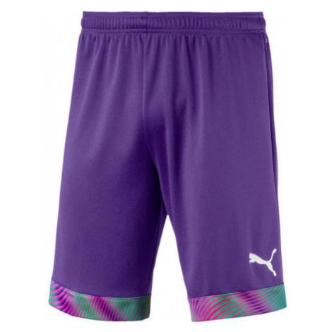 Puma CUP SHORTS fialová - Pánske futbalové šortky