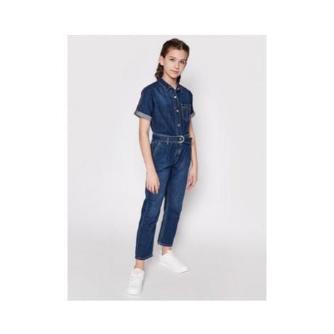 Calvin Klein Jeans Overal IG0IG00845 Tmavomodrá Regular Fit