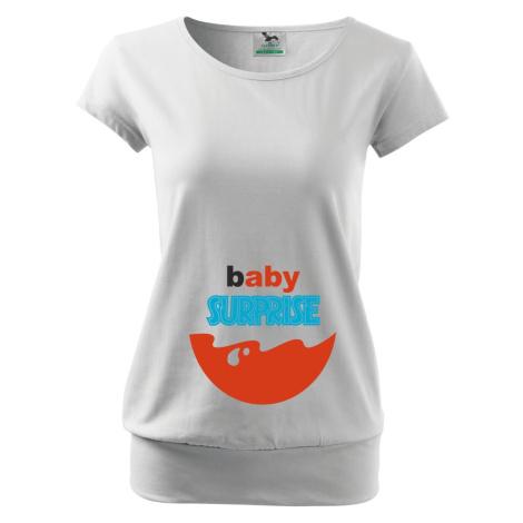 Tehotenské tričko Baby Surprise