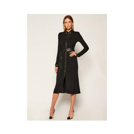 Pinko Koktejlové šaty Harrison AL 20-21 BLK01 1G15JE Y6DS Čierna Regular Fit