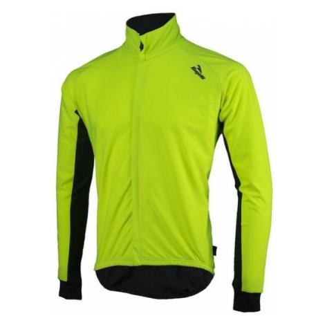 Pánsky cyklistický dres Rogelli All Seasons, 004.024. reflexná žlto-čierny