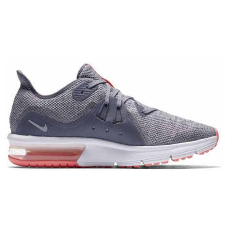 Nike AIR MAX SEQUENT 3 GS tmavo sivá - Detská bežecká obuv