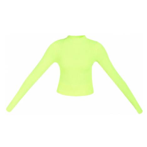 myMo ATHLSR Športový sveter  neónovo zelená