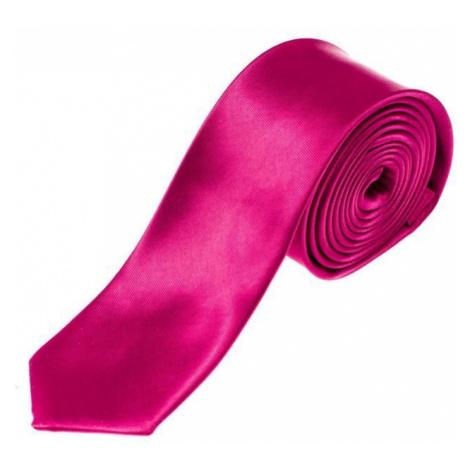 Tmavofialová pánska elegantná kravata BOLF K001