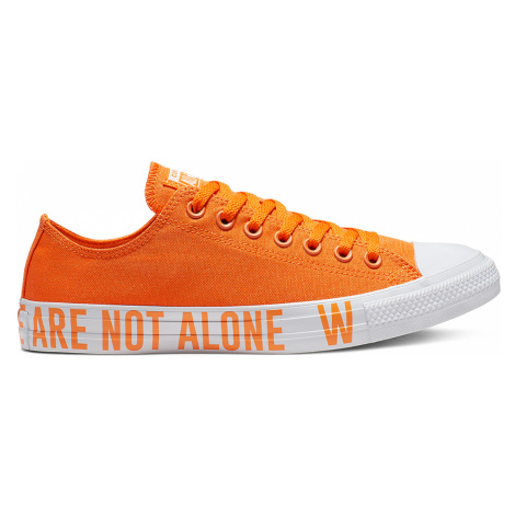 Converse Chuck Taylor All Star We Are Not Alone-9 oranžové 165385C-9