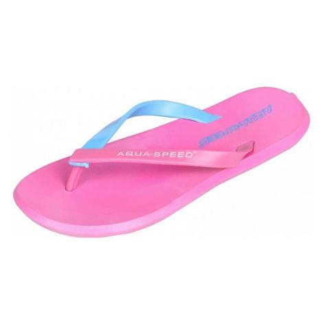Rimini dámské žabky barva: růžová;velikost (obuv / ponožky): 37