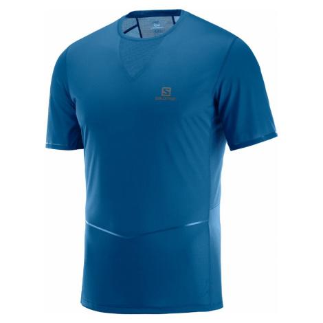 Pánske tričko Salomon Sense Ultra Tee modré