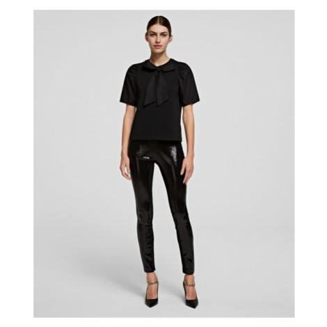 Legíny Karl Lagerfeld Sequin Leggings