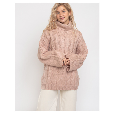 Native Youth The Kate Cable Knit Dusty Pink
